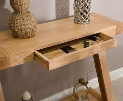 Hallway Table Designs Remarkable Designer Tables And Zaria Solid Oak Designer