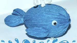 how to make a mini candy present blue whale diy crafts