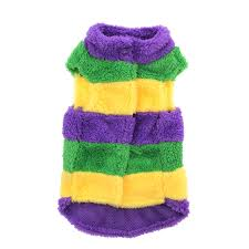 mardi gras sweater rubie s mardi gras dog sweater with same day shipping baxterboo