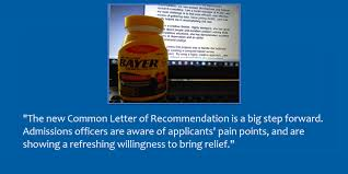 common letter of recommendation the biggest headache relief for