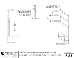 Stair Handrail Requirements Downloads And Details Pacific Stair Corporation