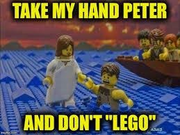 Funny Lego Memes - lego jesus imgflip