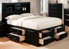 King Platform Storage Bed With Drawers California King Platform Storage Bed Drawers Pavillion Home