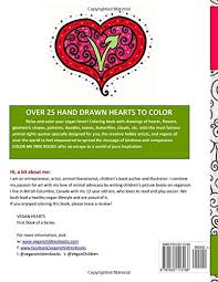 vegan hearts coloring book color free books volume 1