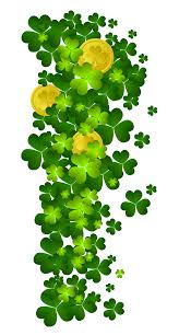 st patricks shamrock with coins png clipart gallery