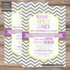 sugar and spice baby shower invitations dancemomsinfo com