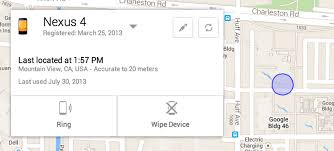 how to locate my android will soon let you locate ring and remote wipe your android