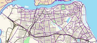 Staten Island Map Census Tracts W Boundaries North Shore Of Staten Island