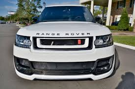 land rover kahn range rover khan white aspire autosports