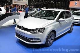 volkswagen geneva vw polo allstar at the 2016 geneva motor show indian autos blog