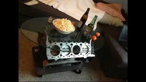 v8 tisch camaro 5 0 small block motortisch engine coffee table
