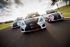 lexus f sport v8 lexus rc f safety car for v8 supercars photo gallery autoblog