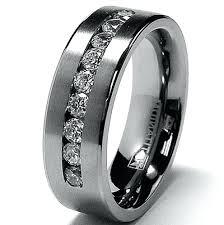 black mens wedding rings mens wedding rings black mens wedding rings black platinum slidescan