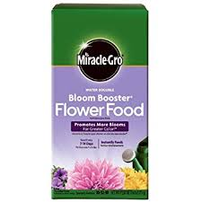 flower food packets miracle gro 1360011 water soluble bloom booster