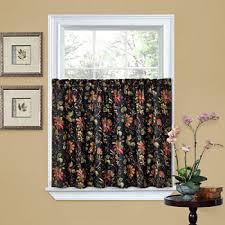waverly black curtains u0026 drapes for window jcpenney