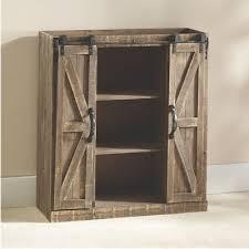 4 Door Cabinet Barn Door Cabinet Country Door