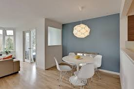 Dining Room Accent Furniture Blue Accent Wall Dining Room Dining Room Eclectic With Mid Century