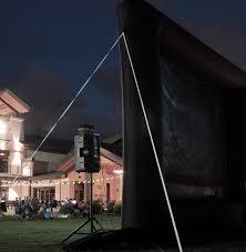 elite outdoor movies outdoor screen 19 5 u0027 inflatable projection