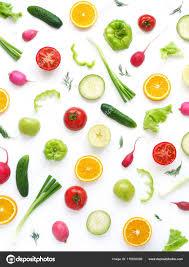 fond ecran cuisine fond écran composition abstraite fruits légumes impression fond