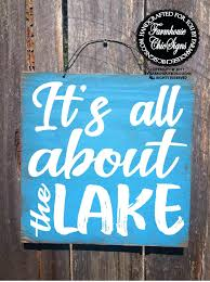home signs decor lake signs wall decor image collections home wall decoration ideas