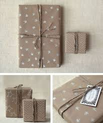 christmas kraft wrapping paper 18 brown paper christmas gift wrapping ideas stayglam