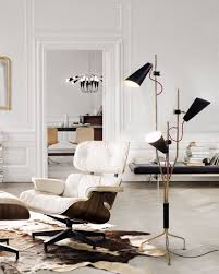 lavish mid century floor lamps for your living room