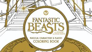Barnes And Noble Postcards Fantastic Beasts And Where To Color Them Barnes U0026 Noble Reads