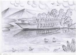 How To Draw Landscapes by Pencil Drawing Youtube How How To Draw Landscapes With Pencil Step