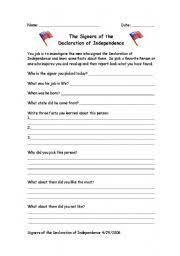 Declaration Of Independence Worksheet Answers Declaration Of Independence Worksheet Cockpito