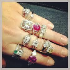 gem art rings images Vintage engagement rings vintage art deco rings jpg