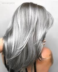 gray frosted hair 7 390 likes 77 comments modernsalon modernsalon on