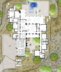 desert house plans architectural plan of the luxury rustic family desert house in