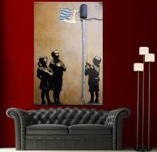 banksy home decor banksy home decor 28 images banksy canvas print pulp fiction
