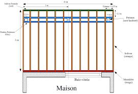 terrasse suspendue en bois wandgestaltung wohnzimmer une terrasse en bois sur une dalle en b ton