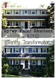How To Paint A Front Door Without Removing It The 25 Best Painting Shutters Ideas On Pinterest Shutter Colors