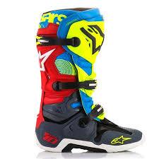 motocross boots alpinestars alpinestars tech 10 limited edition union mx boots best reviews