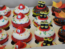 firefighter cupcake toppers fireman cakes decoration ideas birthday cakes