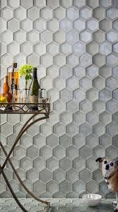 Hexagon Backsplash Tile by Oceanside Glasstile All The Right Angles Page 3