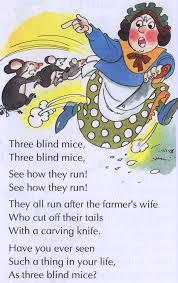 The Blind Mice Three Blind Mice From Www Telugukidstories Com Nursery Rhymes
