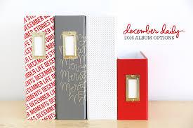 6x8 Album Ali Edwards Design Inc Blog December Daily 2016 Order Selection