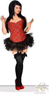Size Halloween Costumes 3x 4x Size Costume 2x 3x 4x 5x 6x Naughty Corset Skirt