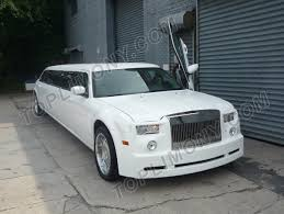 chrysler phantom toplimo new york coach builders exotic limousine conversion