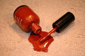 nail polish on rug roselawnlutheran