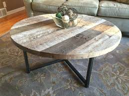round wood and metal side table round wood side table tables iron and wrought patio coffee s