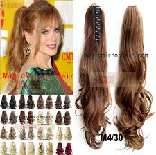 ponytail extension 180g 55cm wavy ponytail extension fashion hairstyle