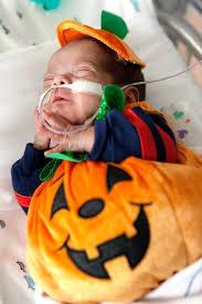 Baby Halloween Costumes Pumpkin Nicu Babies Halloween Costumes Popsugar Moms