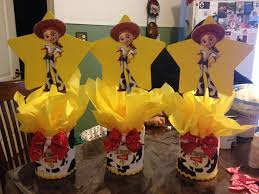 toy story jessie centerpieces stuff i have made pinterest