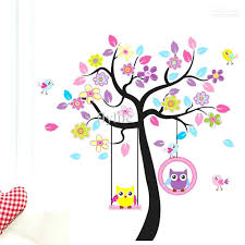 Owl Wall Decals Nursery by Wall Ideas Owl Bedroom Wall Stickers Owl Wall Art From Hobby