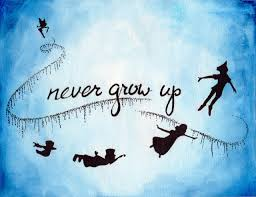 disney quote images what never growing up means to me