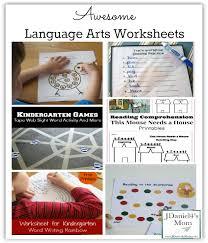 awesome language arts worksheets